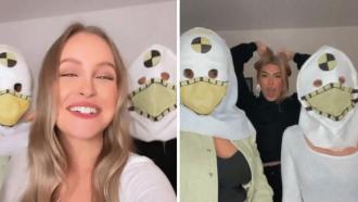 Ex-BBBs Carla Diaz, Juliette Freire e Pocah se reencontram e se vestem de dummy: