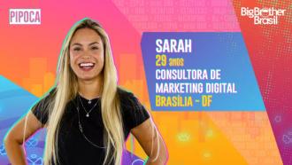 Sarah é participante do BBB21; conheça!