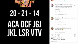BBB21: Mistério! Boninho compartilha enigma sobre o reality e gera especulações nas redes — confira as teorias!