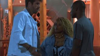 """Claudinho alerta MC Negão da BL na Ilha Record: """"Tem gente com muita carcaça de reality"""""""