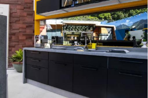 BBB21: cozinhas Vip e Xepa ficam lado a lado na parte interna da casa