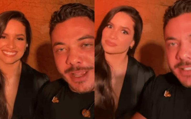 """Preparada! Prontíssima para soltar a voz, ex-BBB Juliette surge com Wesley Safadão em ensaio de live: """"Vai ser pau"""""""